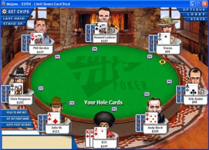 Seven Card Stud Poker bei Full Tilt